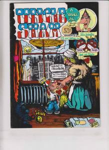 Uncle Sham #2 FN (1st) dave geiser pokes fun at UNCLE SAM underground comix