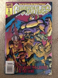 Marvel Gargoyles 1 *1995* Newsstand Edition VF/VF+