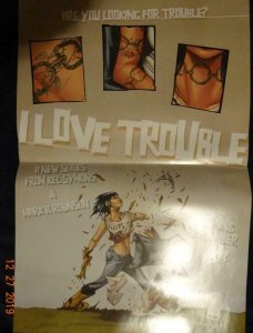 I LOVE TROUBLE  Promo Poster, 12 x 18, 2012, IMAGE Unused more in our store 428