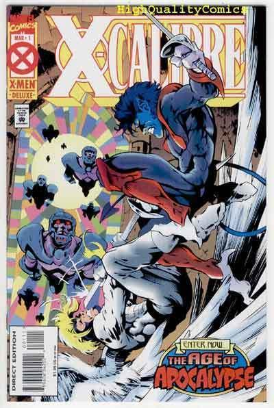 X-CALIBRE #1, NM+, Age of Apocalypse, Warren Ellis, more Marvel in store