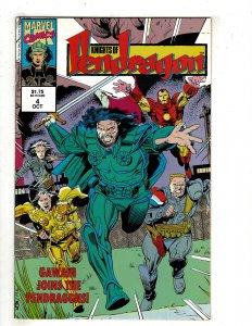 Knights of Pendragon (UK) #4 (1992) YY4