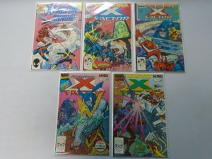 X-Factor Annual run #1-8 + Special (1986-93)