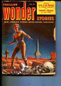 Thrilling Wonder Stories-Pulp-8/52-Edmond Hamilton-Jack Vance