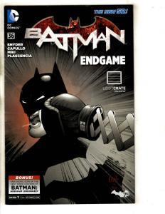 6 Comics Batman 36 Activity Book Academy 2 Superman 1 Bombshells 15 Joe 1 J316