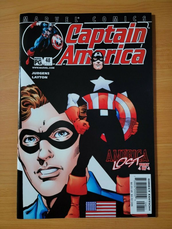 Captain America #48 (515) ~ NEAR MINT NM ~ (2002, Marvel Comics)