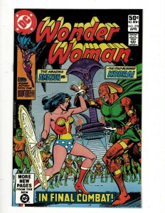 Lot Of 6 Wonder Woman DC Comic Books # 278 281 282 283 287 288 Batman GK34