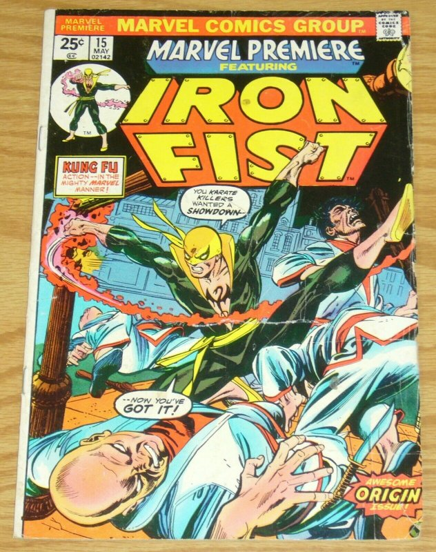 Marvel Premiere #15 VG; Marvel | low grade comic - save on shipping - details in