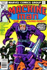 Machine Man (1978 series) #1, VF+ (Stock photo)