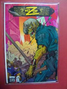 KEY OF Z #1 OF 4 COVER A   (9.0 to 9.4 or better)  BOOM STUDIOS