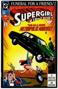 ACTION COMICS #684 (8.5) Supergirl! No Resv! 1¢ Auction! See More!!!