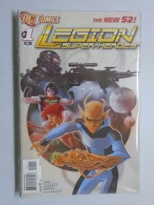 Legion of Super-Heroes (2011 7th Series) #1-9 Run - Avg 8.5 VF+ - 2011