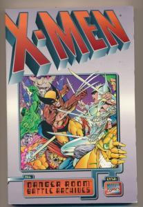 Marvel Comics Stan Lee Pres. X-MEN Danger Room Battle Archives ~ VF/NM (PF169)