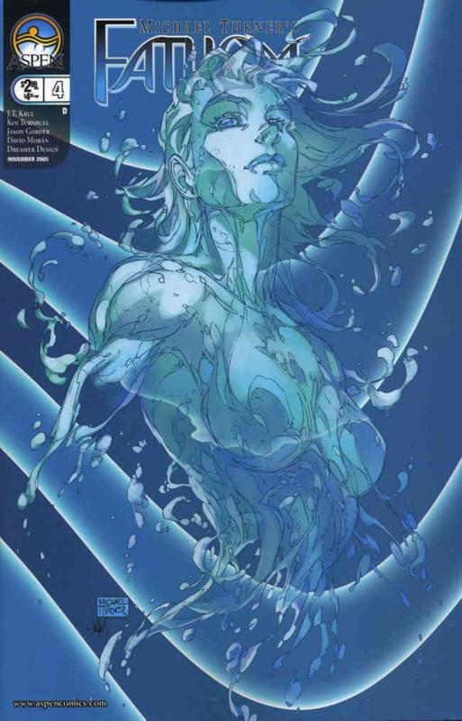 Fathom (4th Series) #4D VF/NM Aspen - save on shipping - details inside