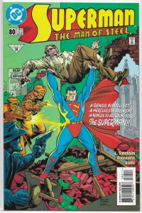 Superman  : Man of Steel   # 80 FN (Superman 1938 1)