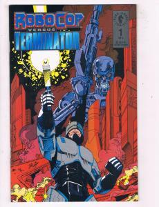 Robocop Versus Terminator #1 VF/NM Dark Horse Comic Book Miller 1992 DE43 TW14