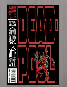 Deadpool # 1 NM- Marvel Comic Book X-Force X-Men Wolverine Cable Domino JK7