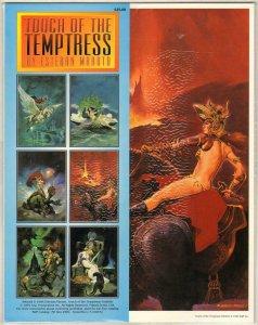 TOUCH OF THE TEMPTRESS PORTFOLIO BY ESTEBAN MOROTO SEALED MINT 1994 BIN