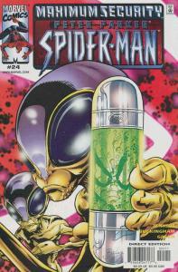 Peter Parker: Spider-Man #24 VF/NM; Marvel | save on shipping - details inside