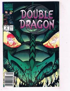 Double Dragon #4 VF/NM Marvel Comics Modern Age Comic Book Oct 1991 DE48