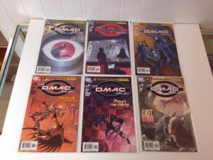 The Omac Project Mini-Series 1 2 3 4 5 6 (2005) 1-6 DC Comics Lot Near Mint Set