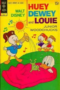 Huey, Dewey, and Louie Junior Woodchucks #14 VG; Gold Key | low grade comic - sa