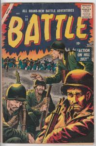 All Brand-New Battle Adventures #55 (Dec-57) FN- Mid-Grade