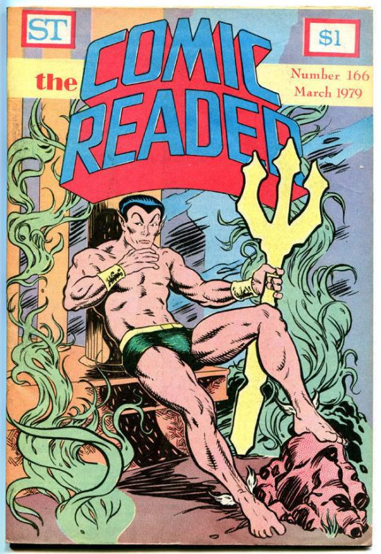 COMIC READER #166, VF, Namor, Sub-Mariner, Fanzine, 1979, more in store
