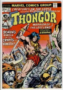 CREATURES on the LOOSE #27, VG+, Thongor, Steve Ditko, 1971, more in store