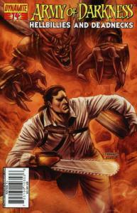 Army of Darkness Hellbillies and Deadnecks #14A VF/NM; Dynamite | save on shippi