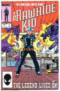 RAWHIDE KID #1 2 3 4, VF+, John Severin, 1985, 4 issues, Marvel, Herb Trimpe