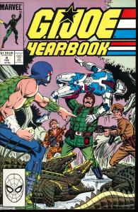 G.I.Joe Yearbook #4 (Marvel)