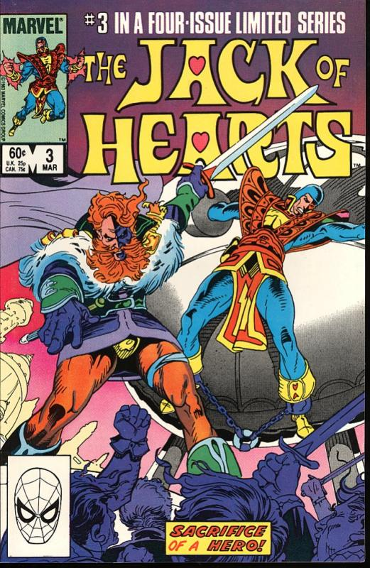 The Jack of Hearts #3 of 4 (Marvel)