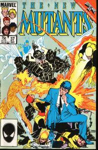 The New Mutants #37 Secret Wars II (Marvel)