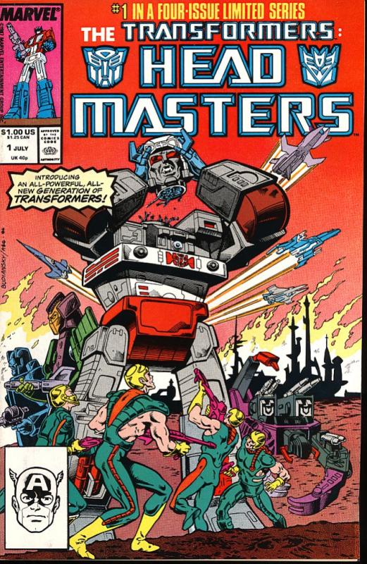 The Transformers Head Masters #1 (Marvel)