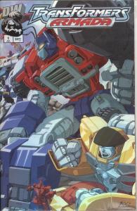 Transformers Armada #1 Foil Edition $5.95 Cover Price (DW)