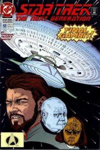 Star Trek: The Next Generation (1989 series) #43, VF- (Stock photo)