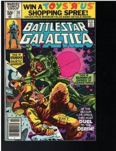 Battlestar Galactica #20 (Marvel, 1980)