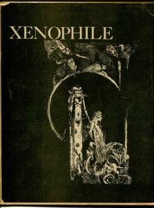 Xenophile #15 1975-top pulp collector fanzine-for sale ads-Pulpcon 4 report-G/VG