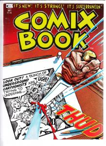 Comix Book #1 (Jan-74) VF/NM+ High-Grade Mr. Natural, Snappy Sammy Smoot, Bar...