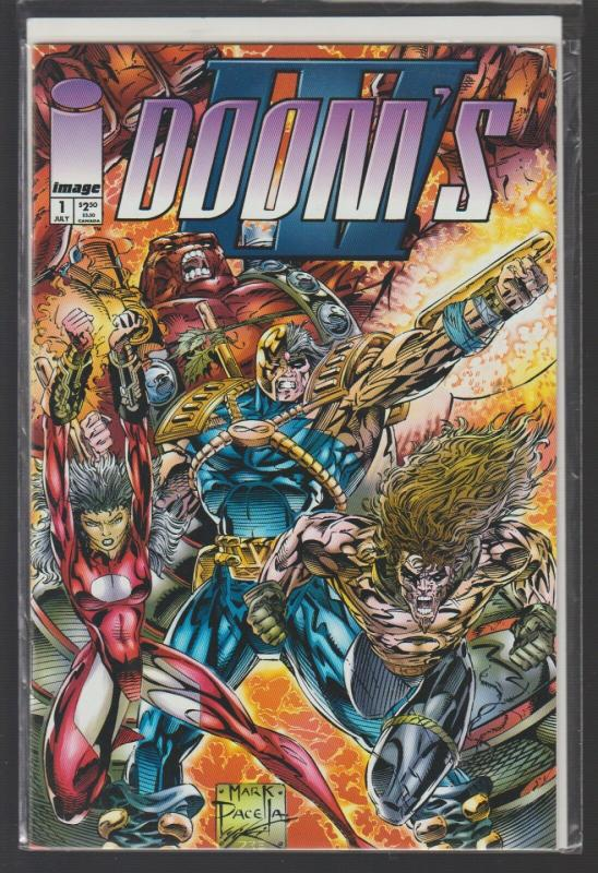 DOOMS 4 - ISSUE #1 - IMAGE COMICS - N/M