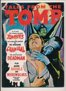 Eerie Public. Tales From the TOMB Vol 3 #6 GD 1971 Dracula Cover Horror (HX941)