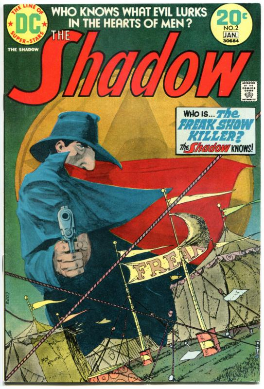 SHADOW #1 2 3 4, 6 7, VF, Wrightson, Chaykin, Kaluta, 1973, 6 issues,Who Knows