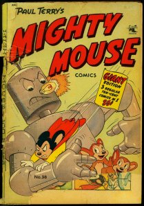 Mighty Mouse #38 1953- St John Golden Age- 100 page giant FAIR