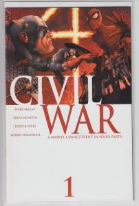 CIVIL WAR 1 2 3 4 5 6 7 COMPLETE 1-7 NEAR MINT Plus FILES Comic NM