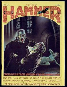 HOUSE OF HAMMER #1-ChrisLee Filmography(1976)VF x3