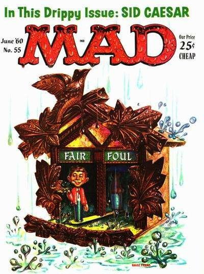 Mad (1952 series) #55, Fine- (Stock photo)