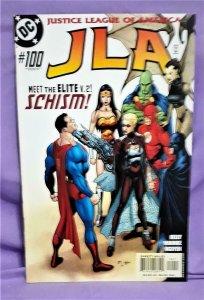 Joe Kelly Justice League of America JLA #100 Elite V.2 Doug Mahnke (DC, 2004)!