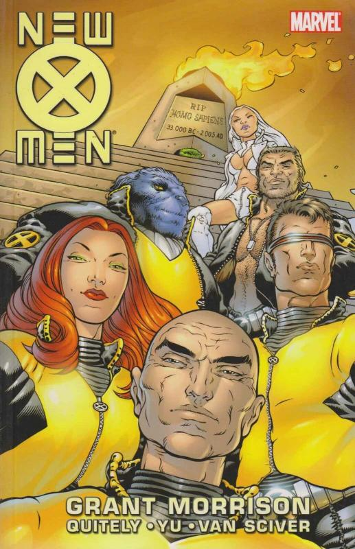 New X-Men By Grant Morrison TPB #1 VF/NM; Marvel | save on shipping - details in