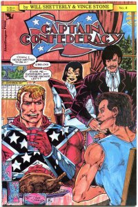 CAPTAIN CONFEDERACY #4, VF/NM, Steeldragon Press, 1986, more in store,