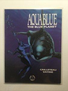 Aqua Blue The Blue Planet Magazine Near Mint Nm Dark Horse